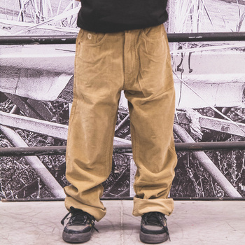 Pants Fenix KGT cord light brown / normal fit < HIT >