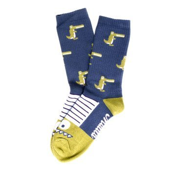 Socks Malita Crocodiles  Crocodiles jeans/pink
