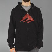 Sweatshirt Emerica TRINAGLE ZIP black