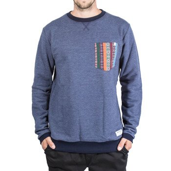 Sweatshirt Malita  heather navy pocket