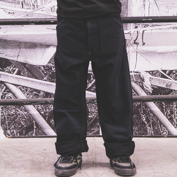 Pants ROCK black / normal fit  <<  HIT >>