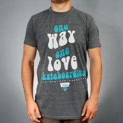 T-Shirt ONE WAY h-grey