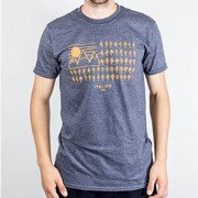 T-shirt Malita Flag heather navy