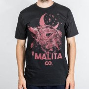 T-shirt Malita Malita red Wolf/black