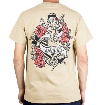 T-shirt Malita Pin up beige