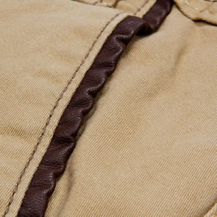 Pants CHINO beige carrot fit