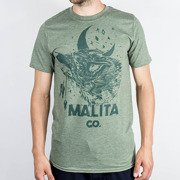 Koszulka Malita Wolf heather green